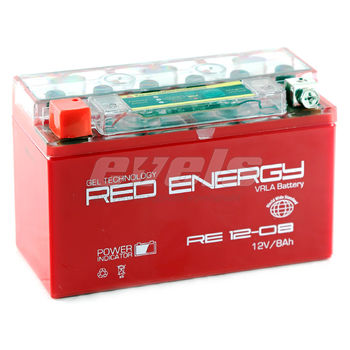 Red Energy RE12-08 (YT7B-BS 8 А/ч) зал.